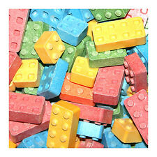 Candy Blox  Assorted Uncoated Candy 4 Pounds Bulk Vending Approx 800 pcs