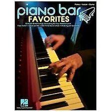 PIANO BAR FAVORITES - PIANO/VOCAL/GUITAR SONGBOOK 312528