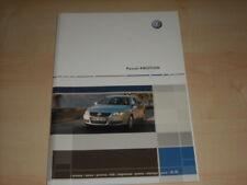 55723) VW Passat 4motion Pressemappe 02/2006