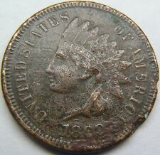 1869 Indian Head Cent Cull
