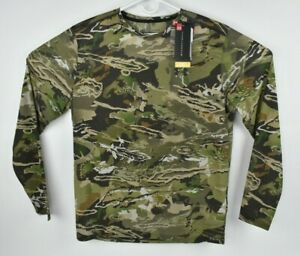 Under Armour Early Season Long Sleeve Men's Hunting Shirt Forest Camo 1298962 XL