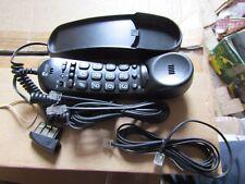 Doro Tel2 Single-line Phone - Black Large Button Wall Mount Phone 1005r 392936