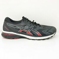 Asics Mens GT 2000 8 1011A690 Black Red Running Shoes Lace Up Low Top Size 9.5