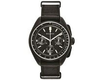 NEW BULOVA SPECIAL EDITION BLACK PLATED MOON CHRONOGRAPH WATCH 98A186