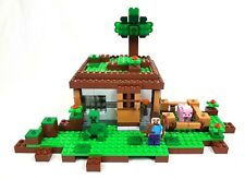 LEGO USED MINECRAFT SET 21115 THE FIRST NIGHT COMPLETE W/INSTRUCTIONS