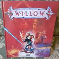 1 LIBRO FILM FANTASY MOVIE STORY BOOK VAL KILMER ANNI 80-WILLOW-MONDADORI 1988 x