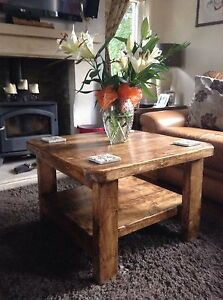 A Square Paimpol Coffee Table