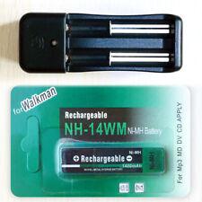 Walkman Smart Charger & 1400 mAh Gumstick Battery For Sony Panasonic CD Player