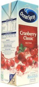 Ocean Spray - Cranberry Classic Juice Drink - 1L (Case of 12)