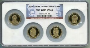 2009-S US Proof Presidential Dollar Set - NGC PF69 Ultra Cameo