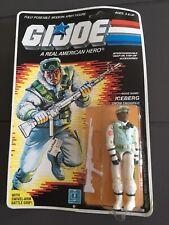 GI JOE Iceberg Action Figure 1985 New MOC Hasbro