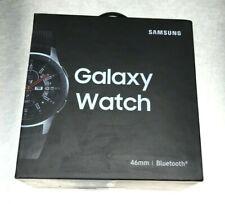 Samsung Galaxy Watch - (46mm) Bluetooth - Silver Case Black Strap Smart Watch