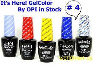 OPI Nail Polish Soak Off UV/LED Base Top Color Series #4 /Choose Any Color