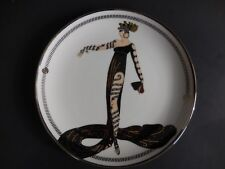 House Of Erte La Merveilleuse Collector Plate Franklin Mint # F2377 8 Inches