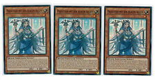 3 x Priestess with the Blue Eyes mp17-de055, Super Rare, Playset, German