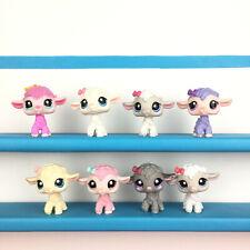 Lot 8 Littlest Petshop Lot Lamb Sheep Goat LPS Set / Chèvre Mouton Pet Shop
