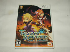 Tales of Symphonia: Dawn of the New World (Nintendo Wii, 2008) -- COMPLETE!