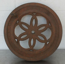 Antique Berkel's 1901 American Slicing Machine Co Model  Meat Slicer Flywheel #1