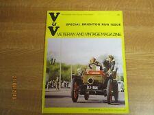 November 1973, VETERAN & VINTAGE, Margaret Thomas, Kevin Sherry, George Milligen