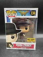 Funko Pop Wonder Woman Diana Prince Hot Topic Exclusive #230 New