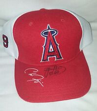 Los Angeles Angels of Anaheim Dairy Queen Promo Red & White Signed Baseball Cap