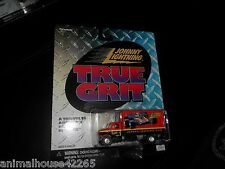 JOHNNY LIGHTNING TRUE GRIT LIGHTNING.COM CARGO TRUCK HAULER 1/64 REALRIDERS