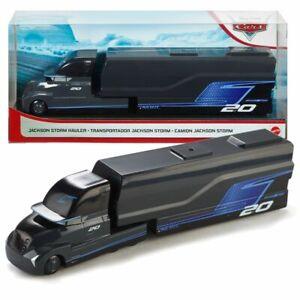 Hauler Jackson Storm   Disney Cars   Véhicule Transport Jeu Complet   Mattel