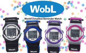 WobL Watch | Vibrating Alarm Reminder Watch