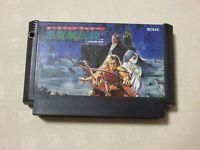 Akumajo Densetsu NES fc Famicom Nintendo  game  castlevania Konami  From Japan
