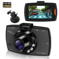 1080P HD Car DVR Dash Vehicle Camera Video Recorder Cam Night Vision G-SensorPXJ