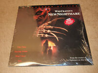 Wes Cravens New Nightmare Laserdiscs Horror LD