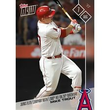 2017 TOPPS NOW #456 MIKE TROUT JOINS EARNS 1,000TH CAREER HIT ON 26TH BIRTHDAY