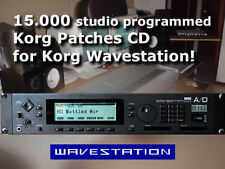 CD 15000 patches for Korg Wavestation EX A/D AD SR sysex presets sound card bank