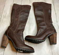 Timberland Women's Earthkeepers Chauncey Flower Knee High Boot Size 9M🔥#B1