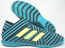 Adidas Nemeziz Tango 17+ 360Agility Indoor Soccer Shoes Green Yellow Size 10
