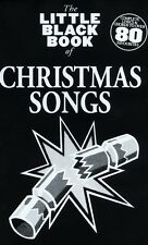 LITTLE BLACK BOOK OF CHRISTMAS SONGS Guitar*