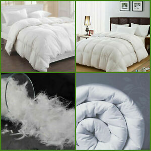 Luxury Hotel Quality Duck Feather & Down Duvet Quilt 13.5 Tog Bedding All Sizes