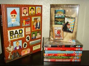 Wes Anderson DVD and Book Collection - Bottle Rocket - Isle of Dogs