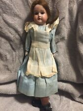 14� Armand Marseille Germany Antique Bisque & Kid Leather Floradora A3M Doll