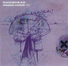 RADIOHEAD Paranoid Android CD Single Parlophone CDNODATA 01 1997