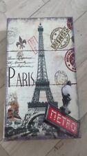 French Style Book Shaped Novelty Storage Box