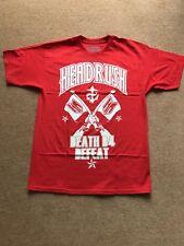 Headrush T-Shirt, MMA, Jiu Jitsu, Muay Thai, Boxing, K1, UFC