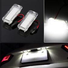 LED Kennzeichenbeleuchtung 2er für Ford Mondeo Fiesta B/C Max Galaxy Focus Kuga