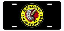 Apache Powerboats? License Plate Offshore Legends Logo