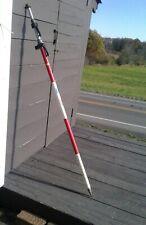Vintage Seco Aluminum Telescoping Surveying Rod with Sight Level