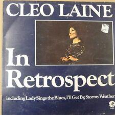 vinyl lp record CLEO LAINE In Retrospect, MGM 2354026 mono