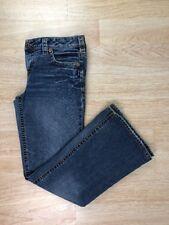 Used Womens Sz 31 Sliver Jeans Western Glove Works Light Wash Blue Denim Aiko