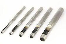 Hueca Perforadora Herramienta Cinturón de plástico resistente de Madera de Cuero Artesanía hágalo usted mismo 1mm 20mm