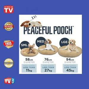 Peaceful Pooch # Calming Pet Bed # As Seen on TV # Genuine Product #