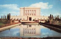 Postcard Latter Day Saints Temple Mormon Mesa Arizona